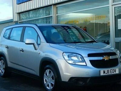 used Chevrolet Orlando 1.8 LS 7-SEAT STATION WAGON 5dr (141bhp)