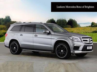 used Mercedes GL350 GL ClassBluetec Amg Sport 5Dr Tip Auto SUV 2016