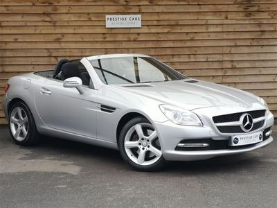 used Mercedes SLK250 CDI BlueEFFICIENCY 2dr Tip Auto 2.2