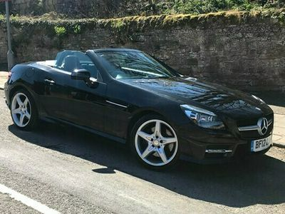 used Mercedes 250 SLK RoadsterBlueEFF AMG Sport Edition 125 2d Tip Auto