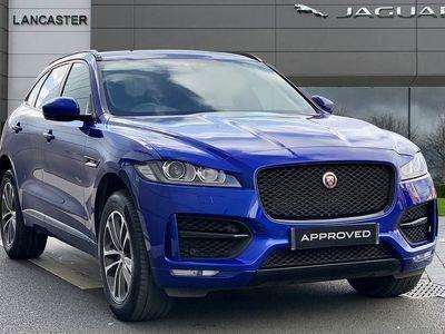used Jaguar F-Pace 2019 Slough 2.0 i4 Petrol (250PS) R-Sport AWD