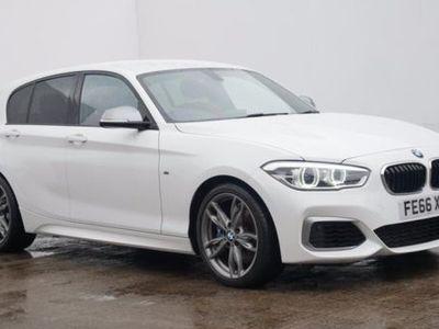 used BMW M140 1 SERIES5dr [Nav] White Manual Petrol