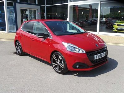 used Peugeot 208 1.2 Puretech 110 Gt Line 5Dr [6 Speed]