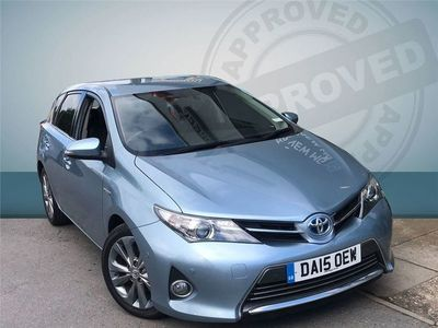 used Toyota Auris 2015 Newton Abbot Excel Hybrid Electric 5 Dr
