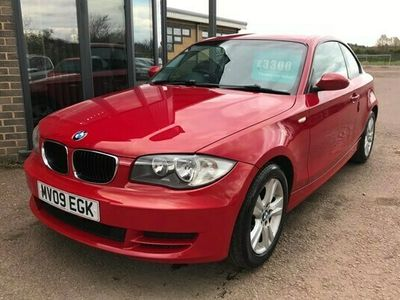 used BMW 120 1-Series Coupe d ES 2d