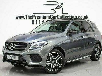 used Mercedes 250 GLE D 4MATIC AMG LINE PREMIUM PLUS PAN ROOF SAT NAV NIGHT PACK Auto 5-Door
