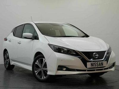 used Nissan Leaf 40KW N-Connecta with Sat Nav and 360 View Cameras