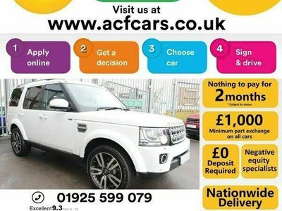 used Land Rover Discovery 4 3.0 SD V6 HSE Lux