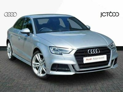 used Audi A3 1.5 TFSI S Line 4dr S Tronic saloon
