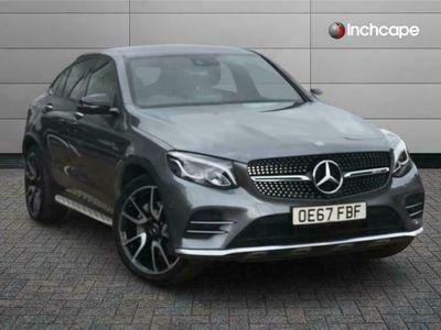 used Mercedes GLC43 AMG GLC AMG COUPE4Matic Premium Plus 5dr 9G-Tronic