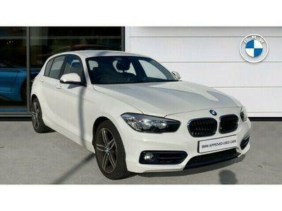 used BMW 118 1 Series i [1.5] Sport 5dr [Nav/Servotronic]