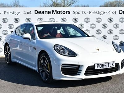 used Porsche Panamera Turbo 4.8 V8 PDK AWD INCREDIBLE SPECIFICATION SUNR