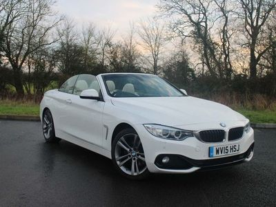 used BMW 420 4 Series d Sport Convertible 2015