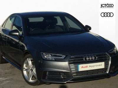 used Audi A4 2.0 Tdi Ultra 190 S Line 4Dr