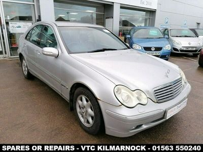 used Mercedes C200 C Class 1.8KOMPRESSOR ELEGANCE SE 4d AUTO 163 BHP