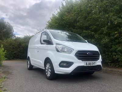 used Ford Custom Transit2.0 EcoBlue 130ps Low Roof Limited Van Auto, 2018 (18)
