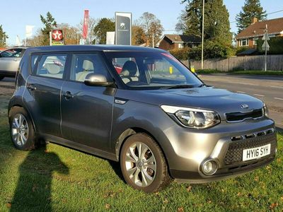used Kia Soul 1.6 GDi Connect Plus 5dr