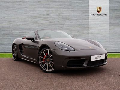 used Porsche 718 Boxster S PDK