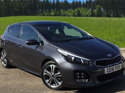 used Kia cee'd GT 5dr Hat 1.6crdi 134 Line Dct Isg