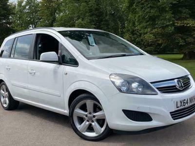 used Vauxhall Zafira 1.8 i VVT 16v Exclusiv MPV 5dr Petrol Manual (168 g/km, 118 bhp)