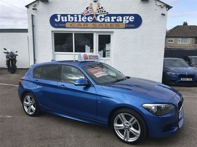 used BMW 120 1 SERIES 2.0 D M SPORT 5d 181 BHP Automatic, FULL service history