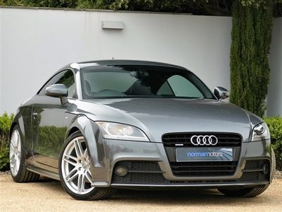 used Audi TT TFSI QUATTRO BLACK EDITION