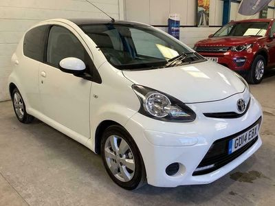used Toyota Aygo 1.0 VVT-I MOVE WITH STYLE 5d 68 BHP