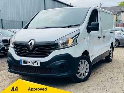 used Renault Trafic 1.6 dCi 27 Business+ SWB Standard Roof EU5 5dr