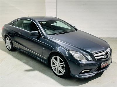 used Mercedes E250  E Class 2.1CDI BLUEEFFICIENCY SPORT 2d 204 BHP 2-Door AMG Pack Heated Leather Seats