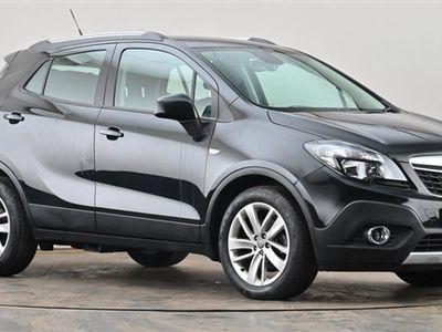 used Vauxhall Mokka 1.6i Exclusiv 5dr Black Manual Petrol
