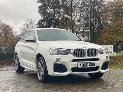 used BMW X4 xDrive30d M Sport 5dr Step Auto suv 2016