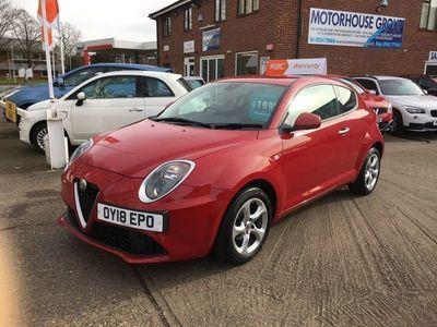 used Alfa Romeo MiTo 1.4 8V Hatchback 3dr Petrol (s/s) (78 bhp)