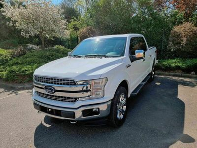 used Ford F-150 Premium Lariat 5.0L V8 Petrol White 2019 5dr