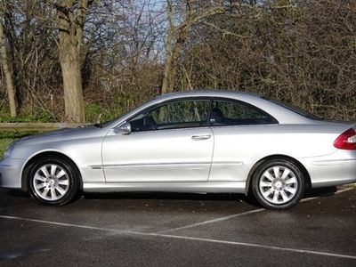 used Mercedes CLK220 Coupe CDi Elegance 2d Tip Auto