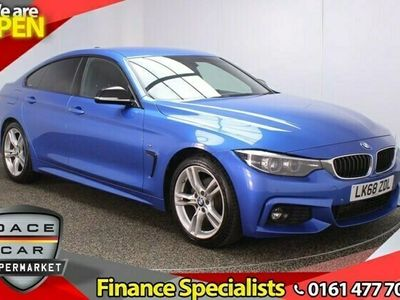 used BMW 420 Gran Coupé 4 SERIES GRAN COUPE 2.0 D M SPORT 4DR 1OWNER AUTO 188 BHP BLUETOOTH CRUISE CLIMATE DAB ALLOYS