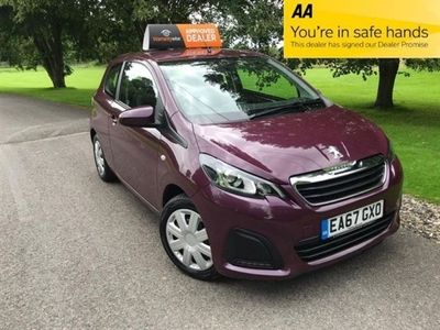 used Peugeot 108 1.0 ACTIVE 3d 68 BHP Supplied With 12 Months MOT !
