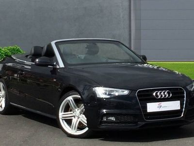used Audi A5 Cabriolet 1.8T FSI S Line Special Edition 2dr Multitronic
