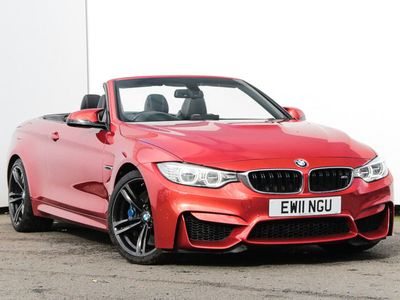 used BMW M4 M4 SeriesConvertible 3.0 2dr