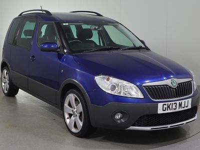 used Skoda Roomster 1.6 TDI CR Scout 5dr