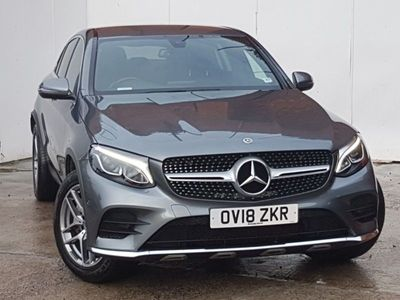 used Mercedes E250 GLC Coupe Glc D 4Matic Amg Line 5Dr 9G-Tronic