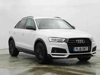 used Audi Q3 1.4T FSI Black Edition 5dr S Tronic estate special editions