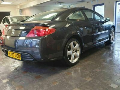 used Peugeot 407 Coupe 2.7 V6 HDi GT 2dr Tip Auto