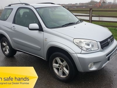used Toyota RAV4 VVT-I XT3 - FULL MOT - 14x SERVICE STAMPS - ONE OWNER - FREE DELIVERY 3-Door