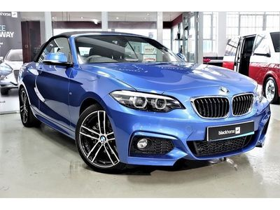 used BMW 220 2 Series d M Sport Convertible 2.0 2dr