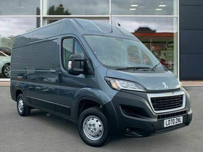 used Peugeot Boxer 2.2 BlueHDi H2 Professional Van 140ps