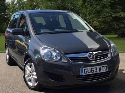 used Vauxhall Zafira 1.6 i VVT 16v Exclusiv MPV 5dr Petrol Manual (157 g/km, 113 bhp)