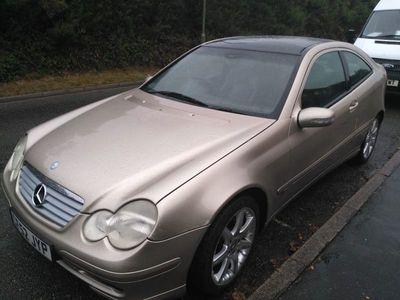 used Mercedes C220 C Class 2.1CDI SE 2dr