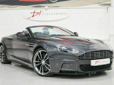 used Aston Martin DBS 5.9 V12 VOLANTE 2d AUTO 510 BHP QUANTUM SILVER QUANTUM SILVER / CARBON / CE