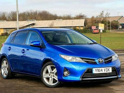 used Toyota Auris Excel 1.6 5dr With Rear-Camera & DAB, Heated Seats, F & R Sensors