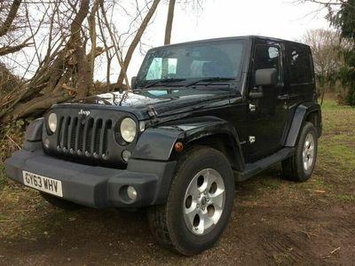 used Jeep Wrangler 2.8CRD Sahara (197bhp) 4X4 Hard Top 2d 2776cc Auto